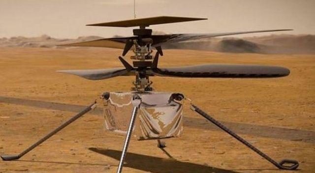 NASA Mars'taki helikopterini uçurmayı deneyecek
