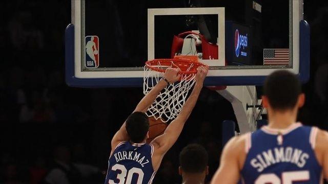 NBA'de 7 maçtır kazanan Clippers'ı Furkanlı 76ers durdurdu