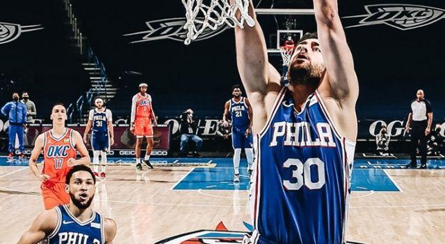 NBA'de Philadelphia 76ers, Furkan Korkmaz'ın üstün performansıyla kazandı