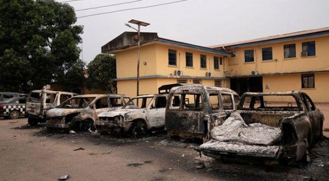 Nijerya'da firar eden 1844 mahkumdan 107'si teslim oldu
