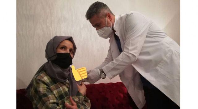 Öğretmeni aşıya bakan ikna etti