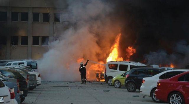 PKK'nın yaşlı kuryesi Adana Valiliğine saldırıdaki bombaları da getirmiş