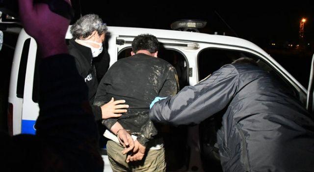 Polisten kaçmaya çalışan alkollü sürücü yakalandı