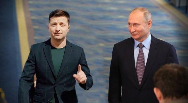 Putin, Ukrayna'ya el uzattı: Zelenskiy'i Moskova'ya davet etti