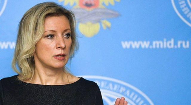 Rusya Dışişleri Bakanlığı Sözcüsü Zaharova: Çekya'ya gereken cevabı en kısa sürede vereceğiz