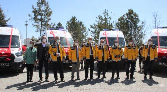 Sağlık Bakanlığından Karaman'a ambulans desteği