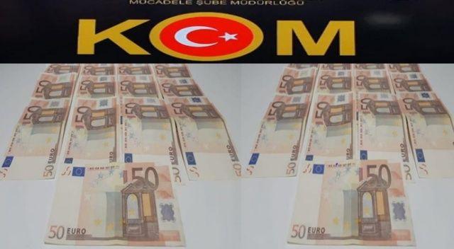 Sahte 50 Euro ile 3 ilde alışveriş yapan çeteye eş zamanlı operasyon: 4 gözaltı