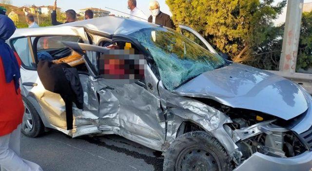 Sakarya'da kaza: 1 ölü, 3 yaralı