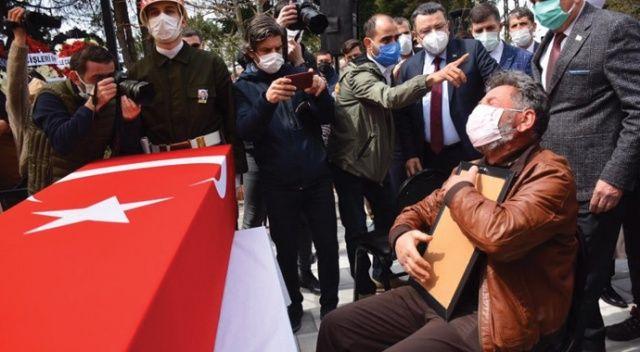 Şehit Türk Yıldızları pilotu son yolculuğuna uğurlandı