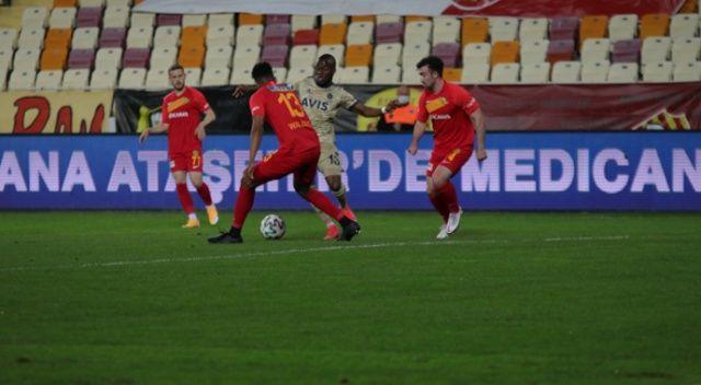 Süper Lig: Yeni Malatyaspor: 1 - Fenerbahçe: