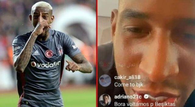 Talisca'ya, 'Hadi Beşiktaş'a dönelim' çağrısı