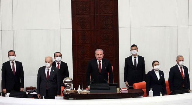 TBMM Başkanı Şentop: Güçlü Meclis, güçlü millet demektir
