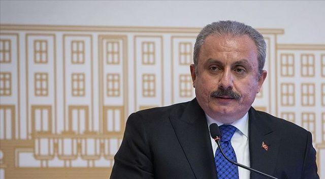 TBMM Başkanı Şentop'tan Prof. Dr. Ali Özek için taziye mesajı