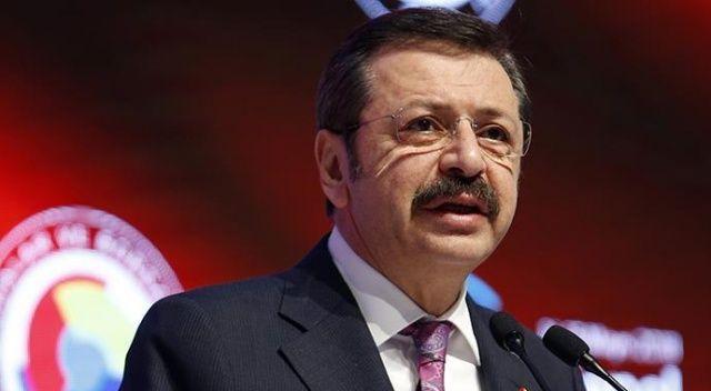"""TOBB Başkanı Hisarcıklıoğlu, """"karşılığı olan çeklerin ödenmeme sorununun çözülmesini"""" talep etti"""