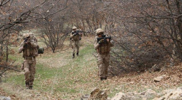 Tunceli'de Eren-7 operasyonu: 17 sığınak imha edildi