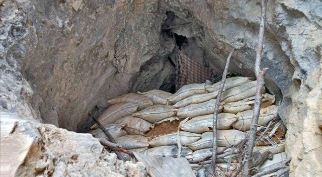 Tunceli'de PKK'nın 17 sığınağı imha edildi