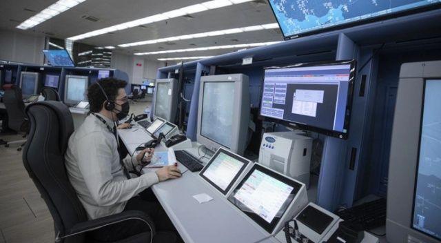 Türkiye'nin gökyüzü trafiği Hava Trafik Kontrol Merkezi'nden yönetiliyor