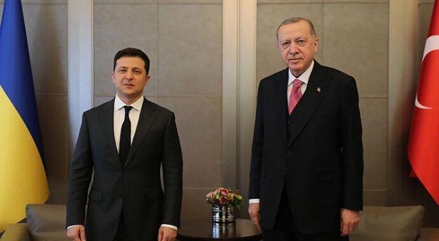 Ukrayna ile kritik temas! Cumhurbaşkanı Erdoğan: Karadeniz'de gerilimin artmasını istemiyoruz
