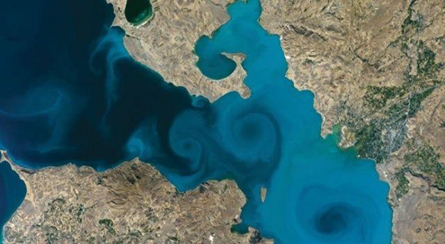 Van Gölü fotoğrafı, NASA'nın yarışmasında birinci oldu