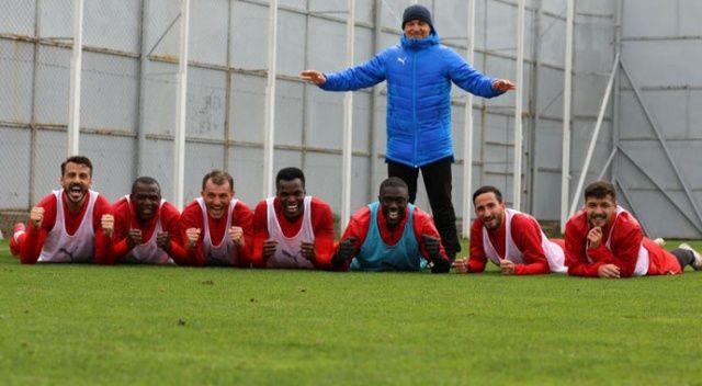 Yiğidolar, Beşiktaş maçına moralli hazırlanıyor