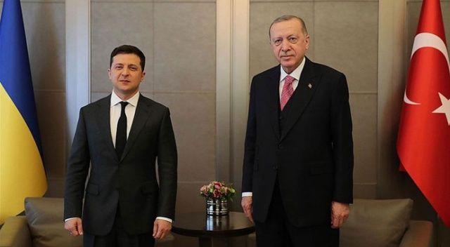 Zelenskiy'den Erdoğan'a teşekkür mesajı