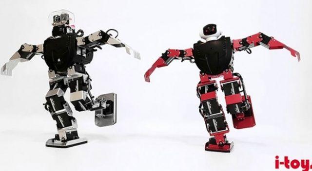 Zeybek oynayan robotlar geliyor