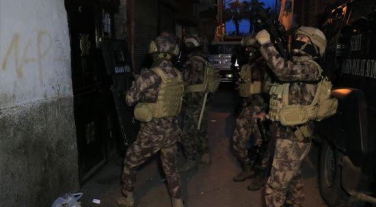 Adana merkezli 4 ilde narkotik operasyonu: 25 gözaltı kararı