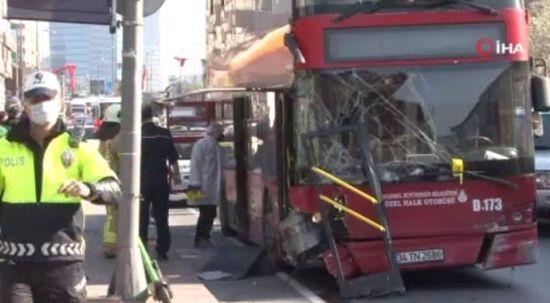 Beşiktaş'taki otobüs kazasında korkunç ayrıntı
