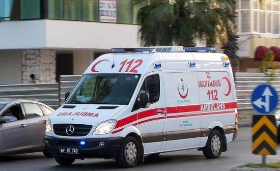 Bursa'da inşaat halindeki binada oyun oynarken merdiven boşluğuna düşen çocuk yaralandı