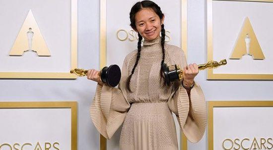Çin, en iyi yönetmen Oscar'ı alan vatandaşı Chloe Zhao'nun tarihi başarısını sansürledi