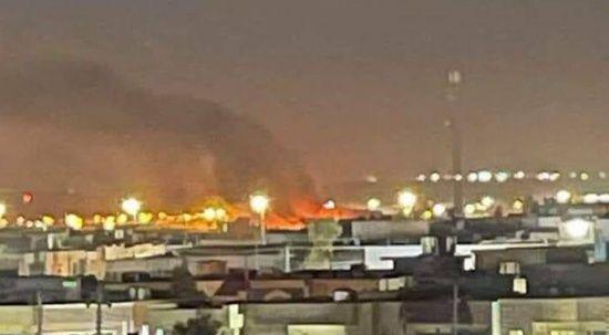 Erbil'de ABD üssüne drone ile saldırı