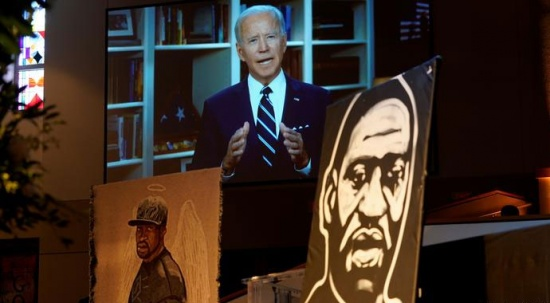 Joe Biden: George Floyd'un öldürülmesi, gündüz gözüyle işlenmiş bir cinayettir