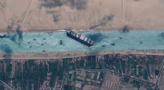 Süveyş'i tıkayan gemi için Japon firmadan 900 milyon dolar tazminat talebi