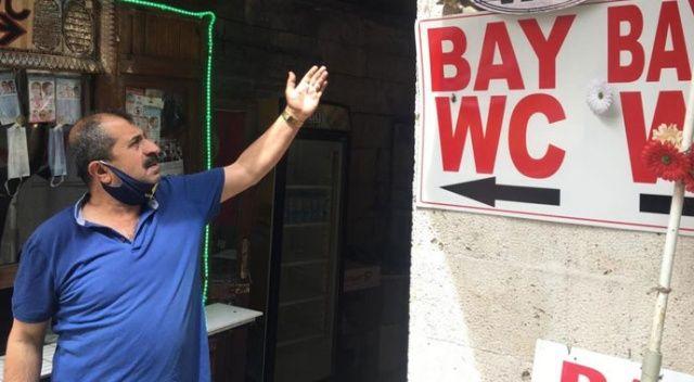 4 ayda 3 kez soyulan tuvalet işletmecisi hırsızlara isyan etti