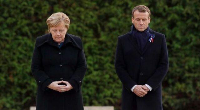 ABD, Avrupalı liderleri dinledi mi? Merkel ve Macron'dan açıklama geldi