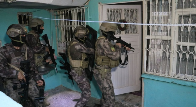 Adana'da organize suç örgütüne şafak vakti operasyon
