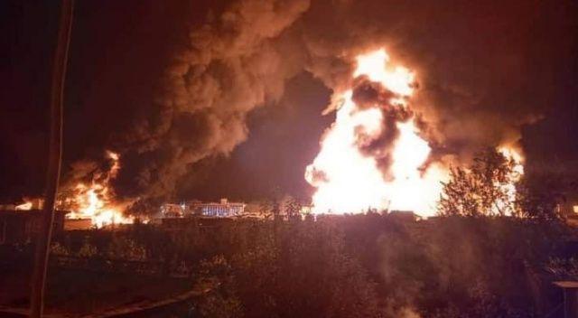 Afganistan'da akaryakıt istasyonunda patlama: 10 yaralı