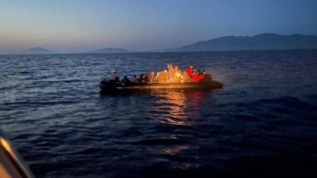 Akdeniz açıklarında 117 düzensiz göçmen kurtarıldı