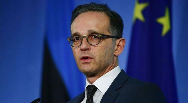 Almanya Dışişleri Bakanı Maas'tan İsrail'e destek