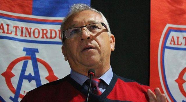 Altınordu Kulübü Başkanı Özkan: Takımın Süper Lig'e çıkmasını istemiyorum