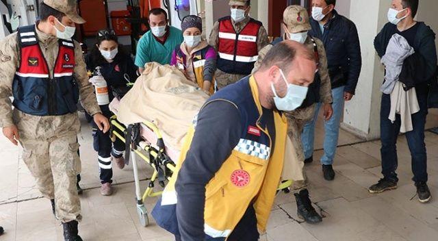 Amasya'daki kayıp şahıs yaralı olarak bulundu