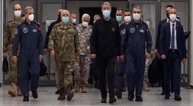 Bakan Akar: Irak'ın kuzeyinde 7 terörist daha etkisiz hale getirildi