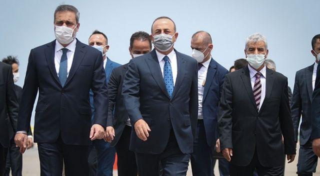 Bakan Çavuşoğlu'ndan Libya'ya resmi ziyaret