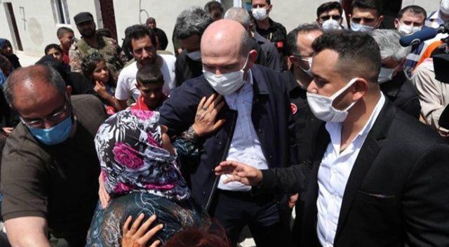 Bakan Soylu: 1 yılda İdlib'de 35 bin ev nihayete erdirilmiştir