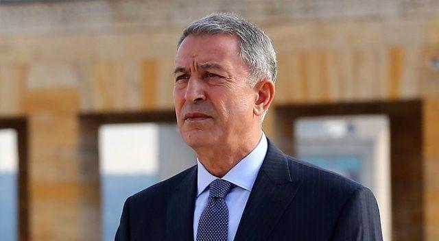 Bakanı Akar'dan şehit Piyade Uzman Çavuş Nar için başsağlığı mesajı