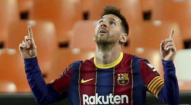 Barcelona deplasmanda Valencia'yı devirdi