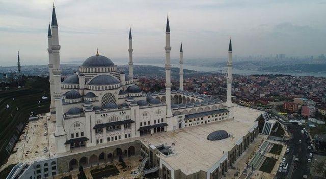 Büyük Çamlıca Camii 2 yılda 12 milyon ziyaretçiyi ağırladı
