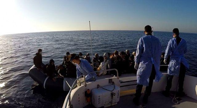 Çanakkale açıklarından 53 sığınmacı kurtarıldı