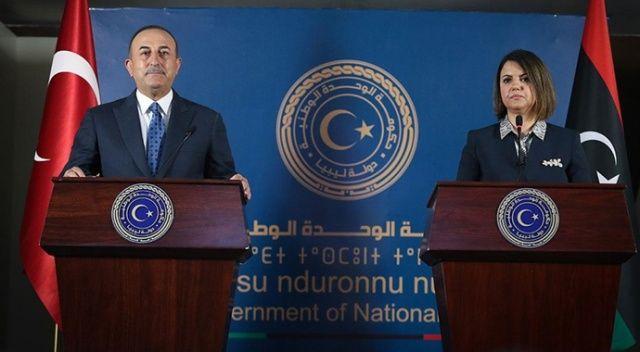 Çavuşoğlu'ndan 'Libya' açıklaması: Önem veriyoruz