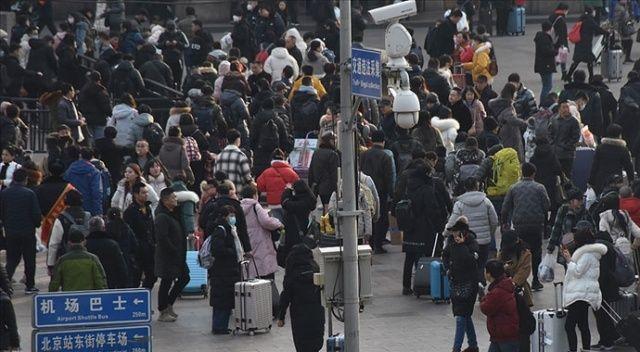 Çin'de 5 günlük tatil: İlk gün 18,3 milyon tren yolculuğu yapılması bekleniyor